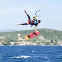 Vlassis Tsansizis - Greek Traditional Kitesurfing
